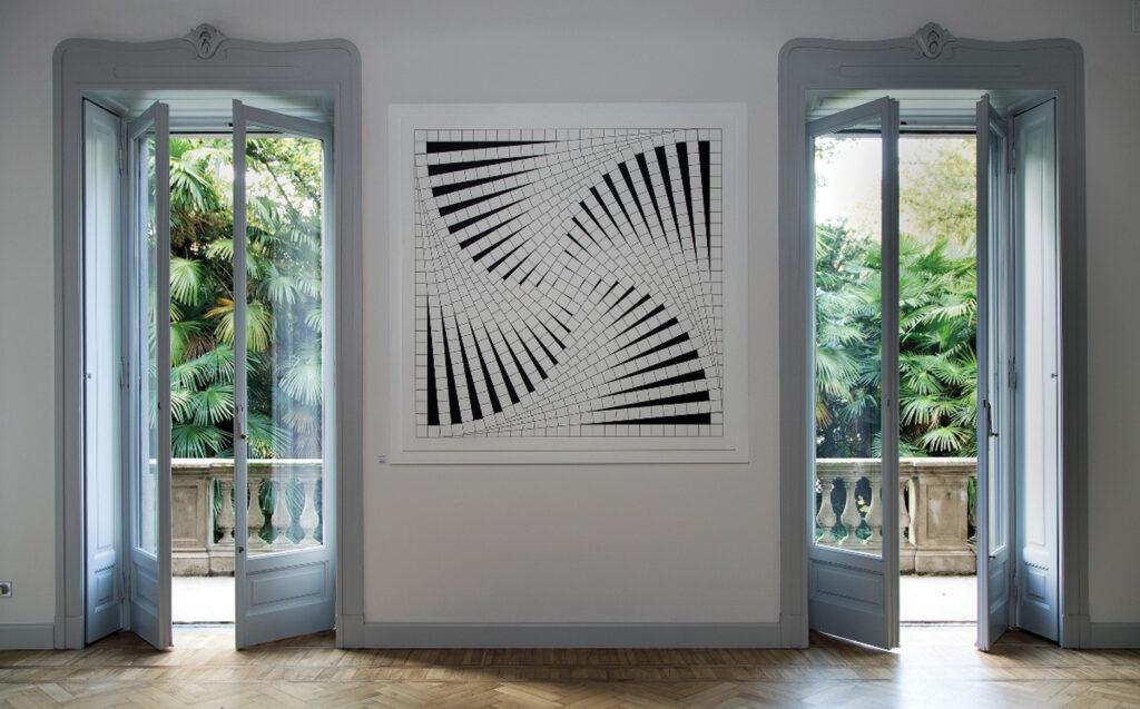 Vista di una sala della Fondazione Marcello Morandini.