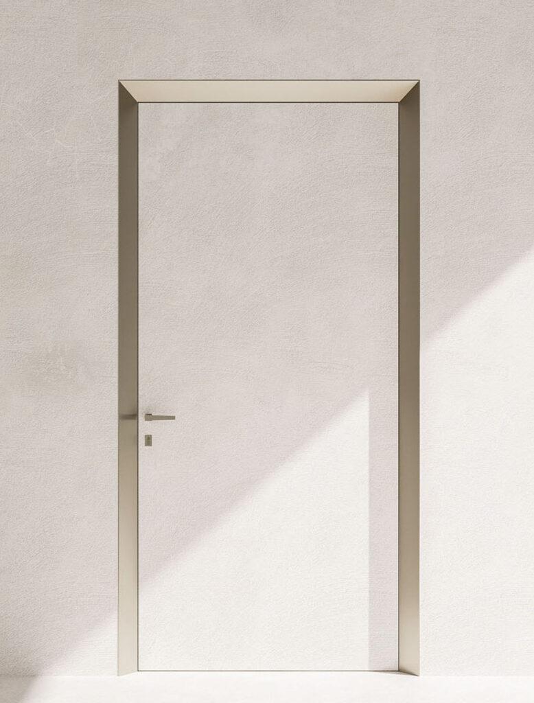 40+uno progetto Eclisse, maniglia su porta
